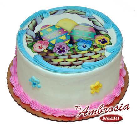 Easter Basket Edible Image®